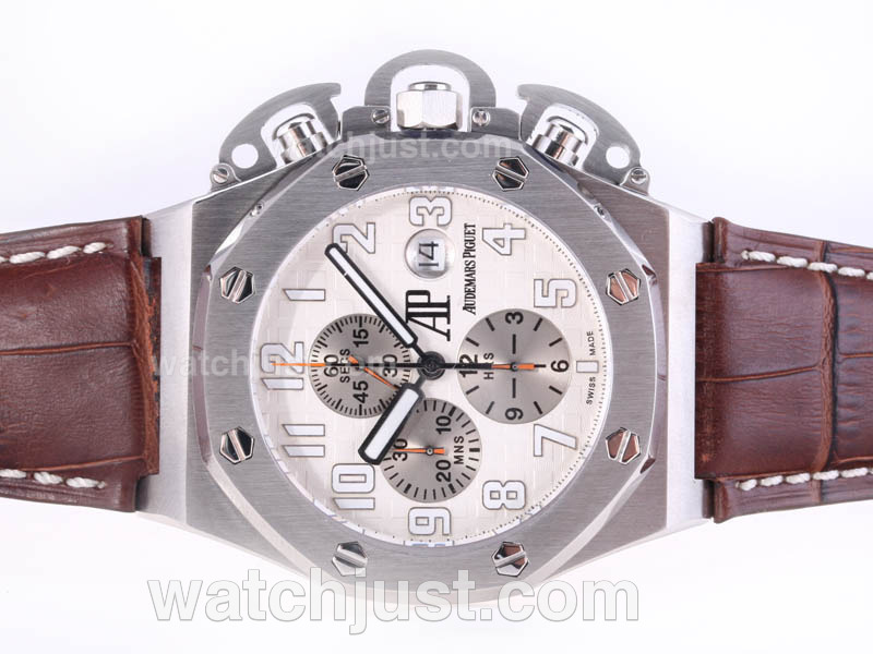 Replica Audemars Piguet T3 Royal Oak Chrono Limited Edition Asia Valjoux Secs @ 12 Ultimate Version Watch